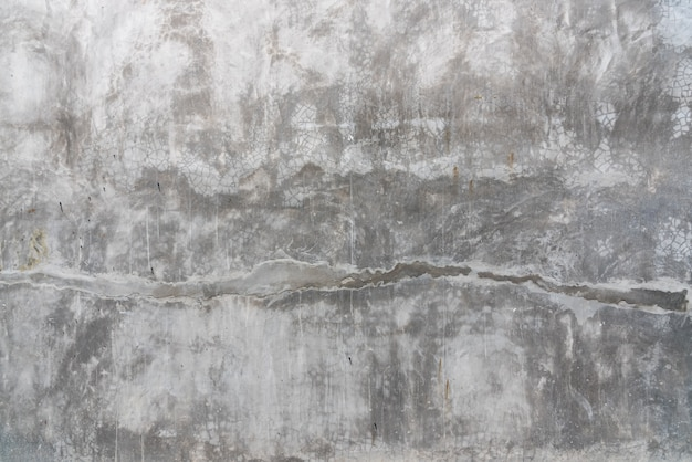 Textures surface of cement wall with rough cracks and not smooth