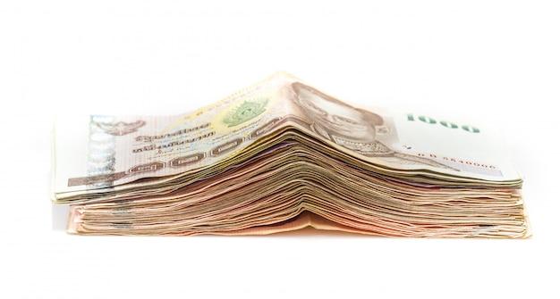 Thai baht banknotes