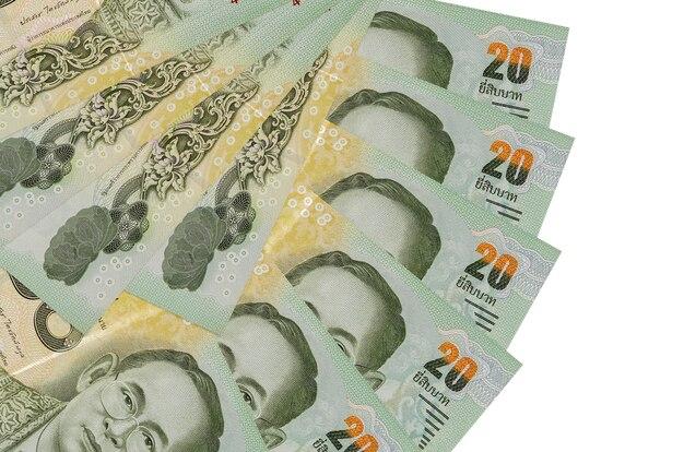 分離されたタイバーツ紙幣