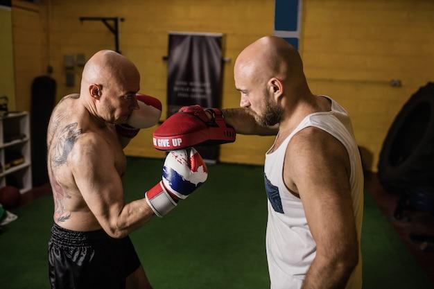 Тайские боксеры практикуют бокс