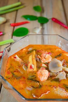Thai cuisine is the national cuisine of thailand.you better eat tom yum goong