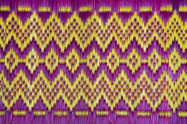 Thai fabric pattern for  texture and backgrounds