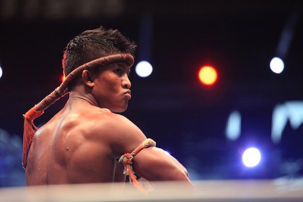 Thai fight, final round