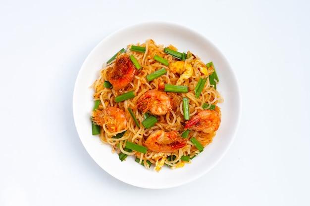 タイ料理、焼きビーフン(パッタイ)