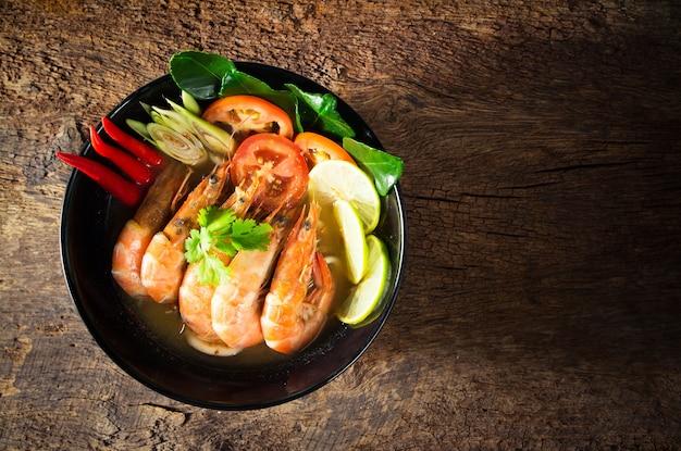 Thai food. tom yum goong