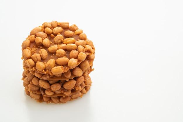 Thai fried peanut cookies