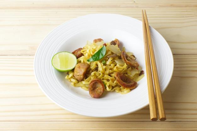 Thai noodle fusion style