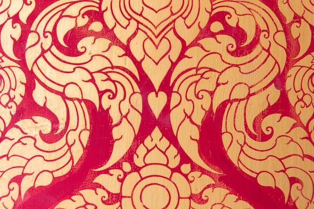 Thai pattern traditional art