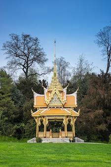 Thai pavilion in lausanne, switzerland