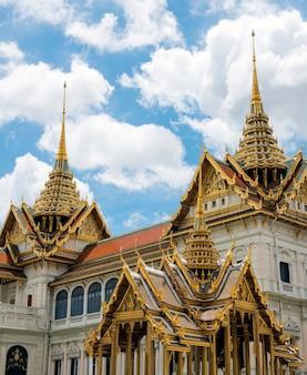 Thai style buddhist temple concept