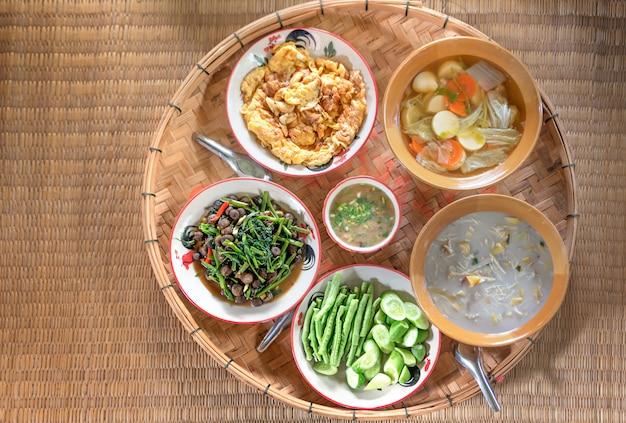 Thai style food