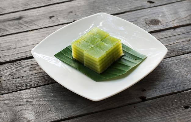 タイのスイートミートやカノムチャンは甘いデザートの一種です