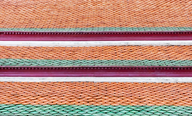 Thai temple tile roof top,texture background