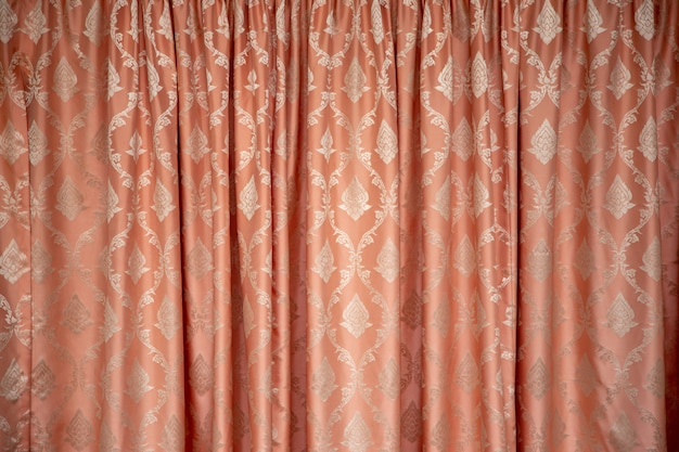 Thai textile fabric pattern for background