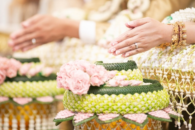 Thai traditional  wedding decorations
