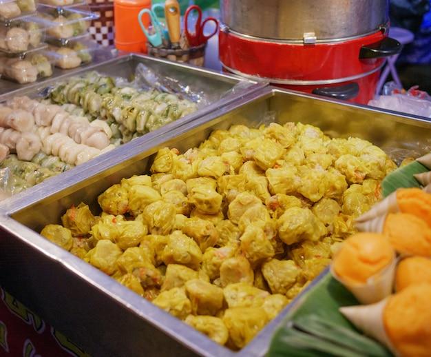 タイのベジタリアン料理、ベジタリアン・フェスティバルのデザート
