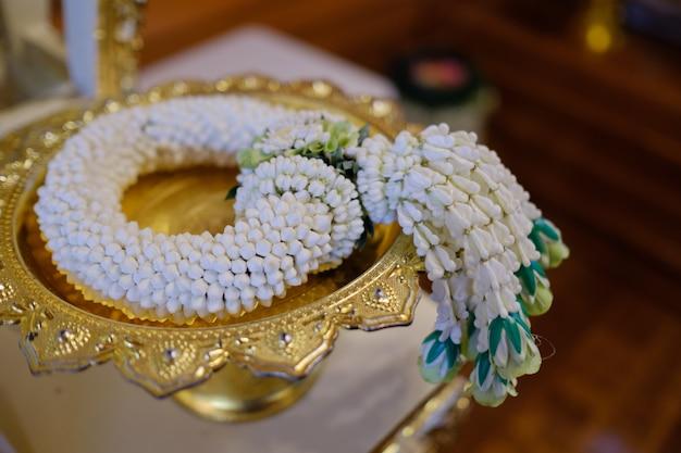 Thai wedding jasmine flower