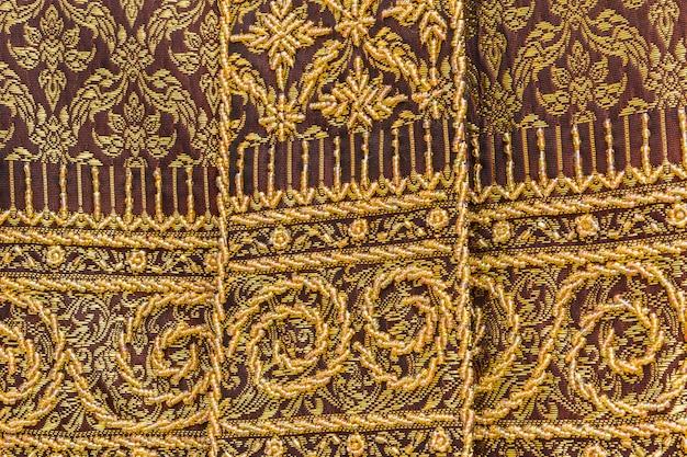 Таиланд ткань красочный стиль поверхности используется в качестве фона
