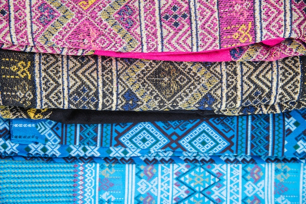 Thailand cultural fabric beautiful
