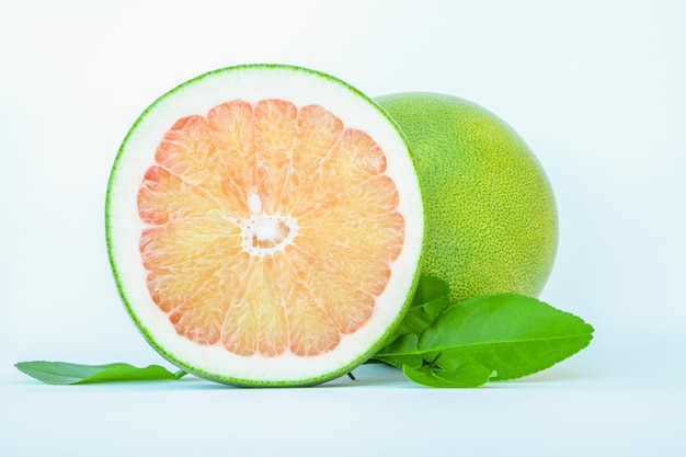 Thailand pomelo fruits isolated