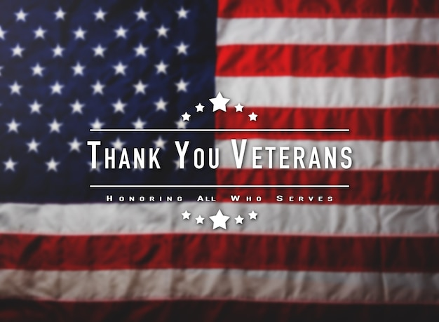 Thank you, veterans message