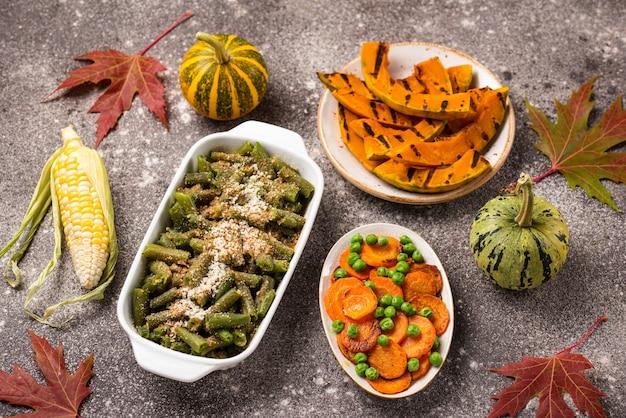 День благодарения традиционная праздничная еда