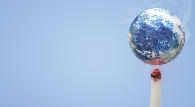 3 dレンダリングの世界タバコの日の画像の背景はありません。