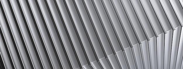 추상 금속 패턴입니다. 3d 그림.