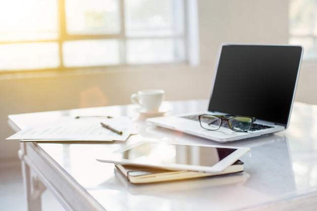 Абстрактный рабочий стол office
