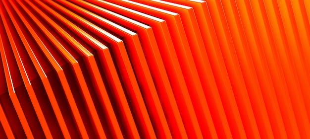Абстрактная оранжевая предпосылка картины металла. 3d иллюстрации