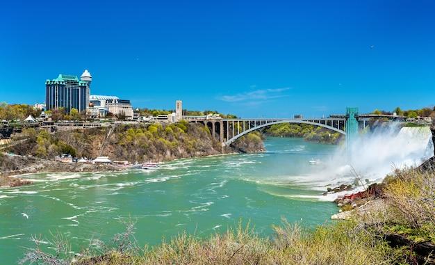 Американский водопад у ниагарского водопада