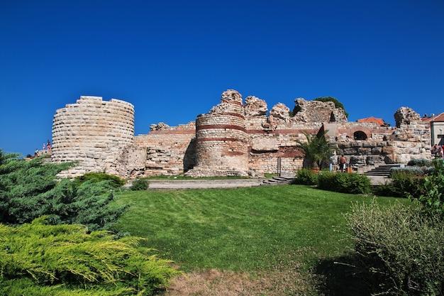 Древняя крепость, несебр, болгария
