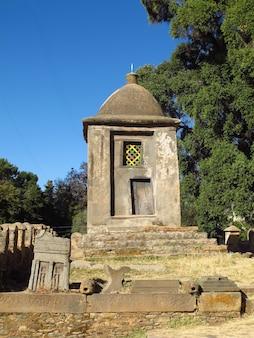 エチオピア、アクスム市の古代正教会