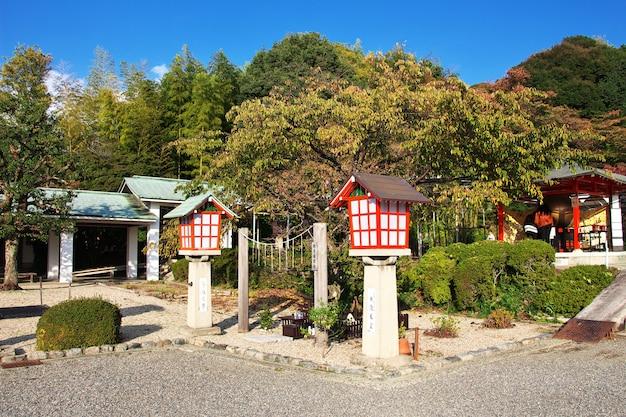 Древний храм в киото, япония