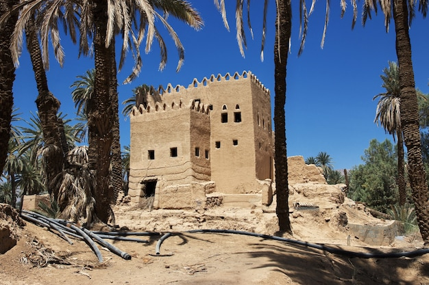 サウジアラビアのアシル地域のナジュラーンに近いアラブの村