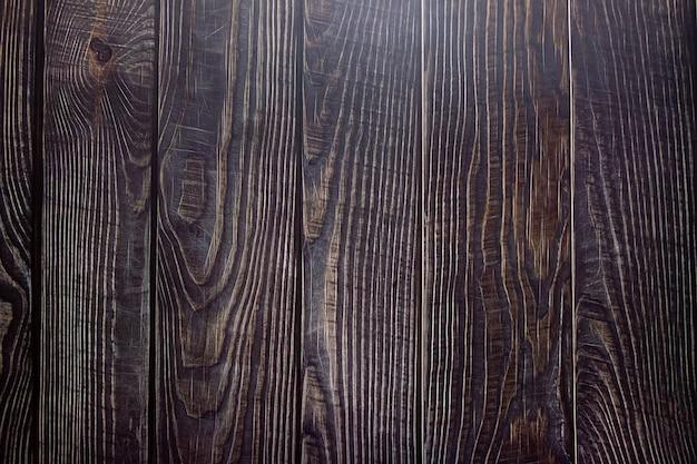 背景は焦げた木ダークボードオイル処理された木材木の構造