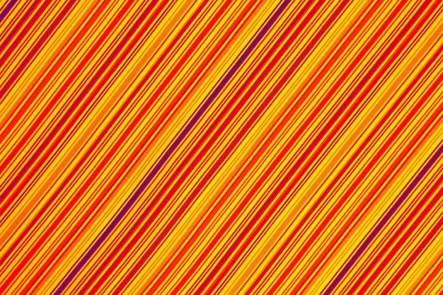 色付きの斜めのストリップの生地の背景のテクスチャ