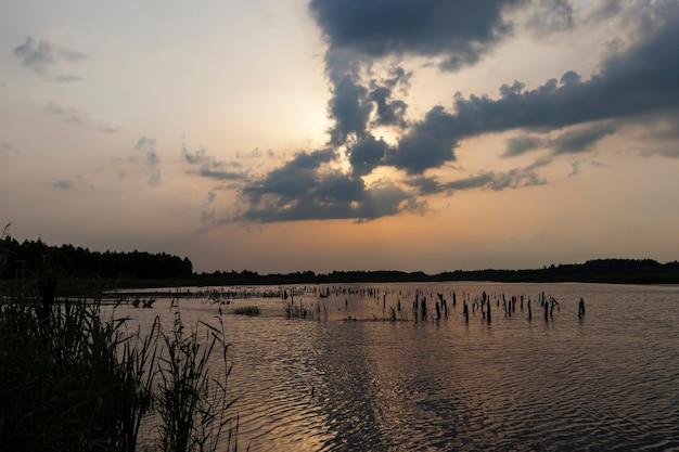 Красивое небо во время заката