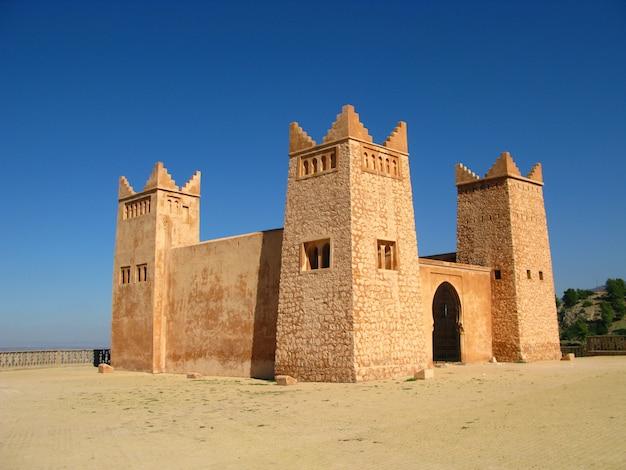 モロッコのベルベル人の家