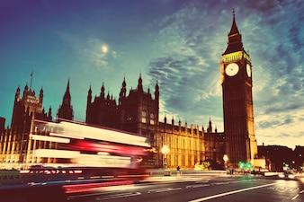 The big ben clock