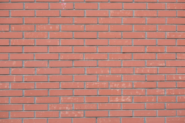 赤レンガのテクスチャの大きな壁