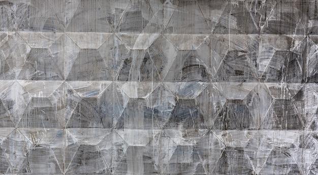 단단한 돌의 블록 회색 돌의 벽