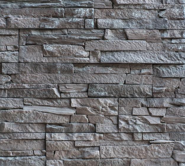 Блоки из твердого камня и стены из серого камня