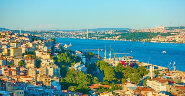 Босфорский пролив в стамбуле, турция