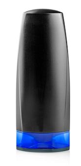 Бутылка шампуня или лосьона для мужчин на белом фоне