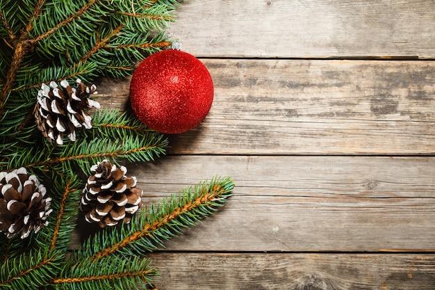 크리스마스 트리와 장난감의 지점