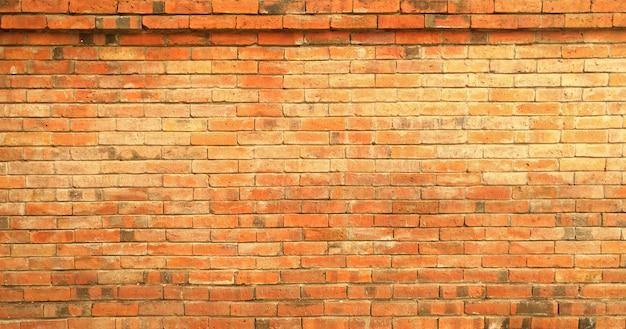 レンガの壁のパターンテクスチャ背景。