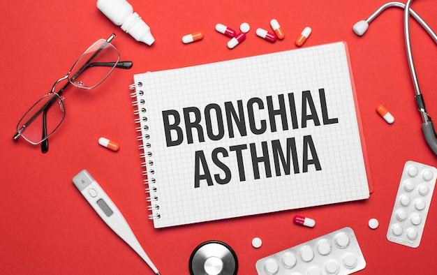 医療をテーマにしたノートの気管支喘息医療用品