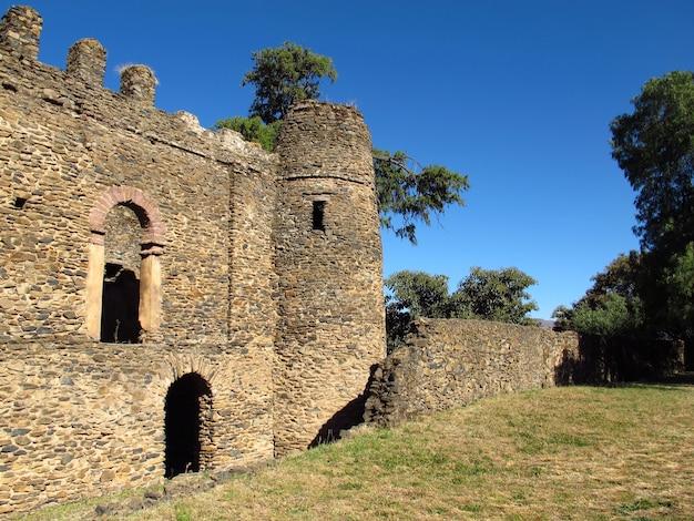 エチオピア、ゴンドール市の城