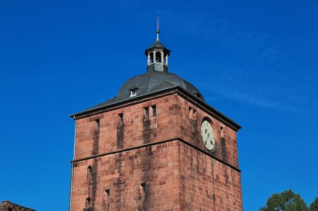 Замок в гейдельберге, германия